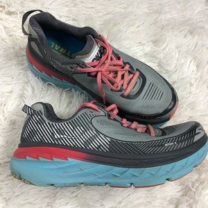 Hoka One One Woman Bondi 5 Running Shoes Size 9.5